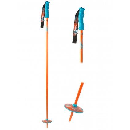 line skis grip stick ski poles 2017 orange