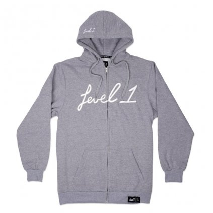Level1 gray hoodie