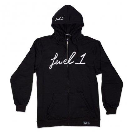 Level1 black hoodie