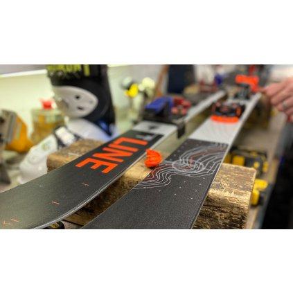 Servis lyží - montáž vázání