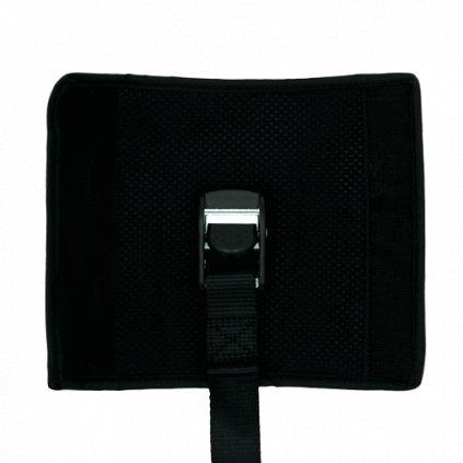 ShredRack popruh černý látkový5