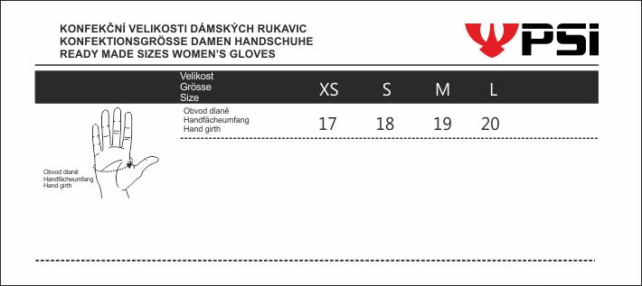 psi-velikost-damska-rukavice