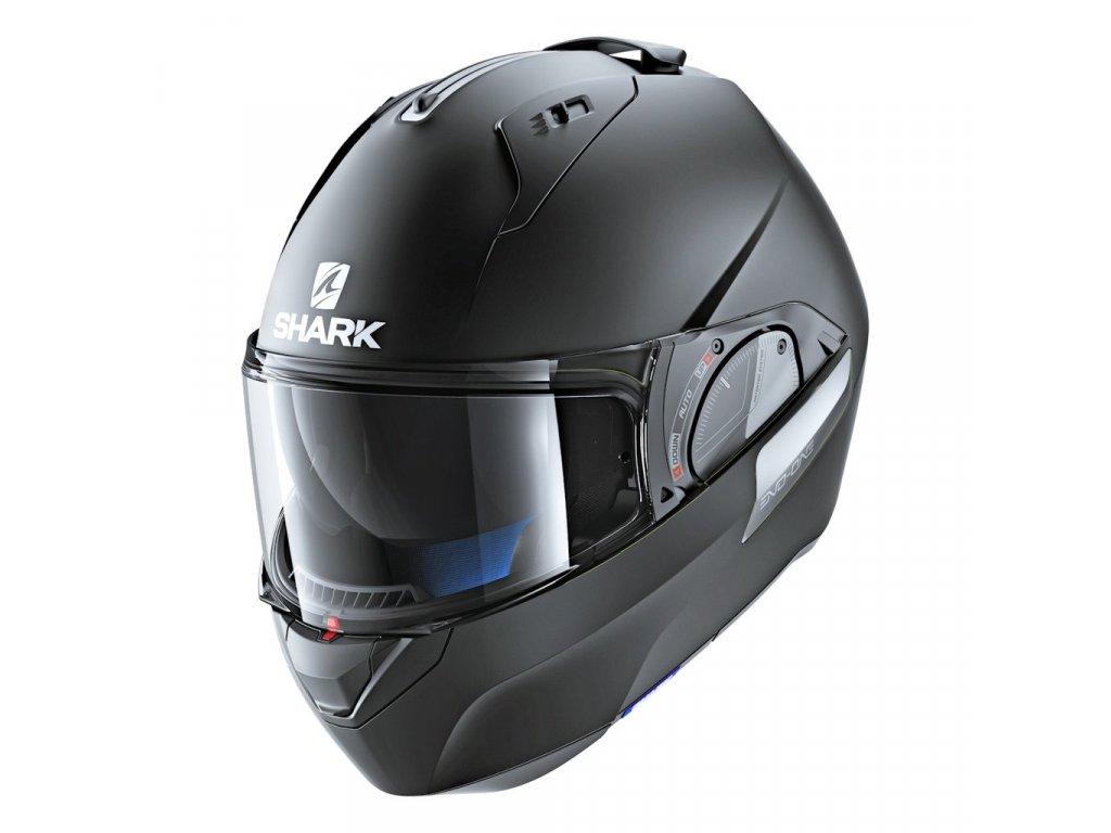 shark helmets evo one 2 matte black HE9702DKMA front left closed 1024x1024