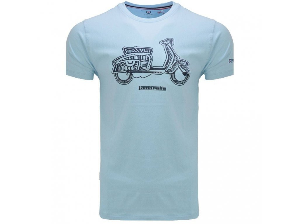 Triko Lambretta světle modré