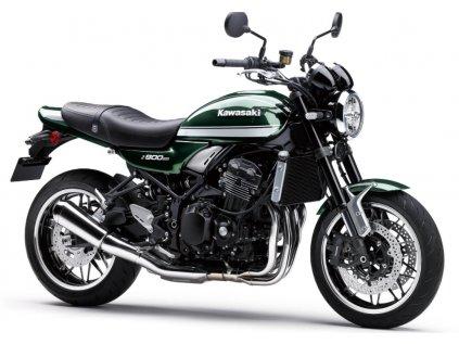 kawasaki Z900RS 2022 Metallic Dark Green1