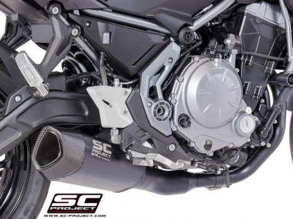 K26 C91MB Kawasaki z650 650 scproject sc1r black noir schwarz titan escape silenciador sc project