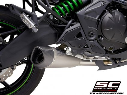 Kawasaki Versys650 SC1R Titanio Dettaglio