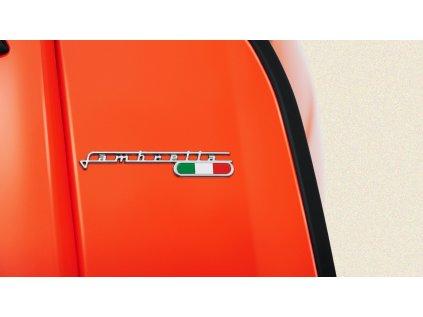 LAMBRETTA V200 ABS Special FIX (Barva oranžová)