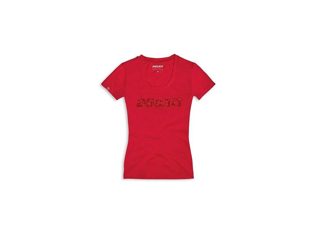 Dámské tričko Ducatiana 2.0 červené
