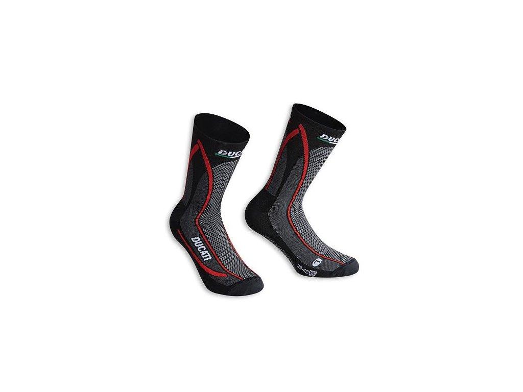 Ponožky Ducati Cool Down černé