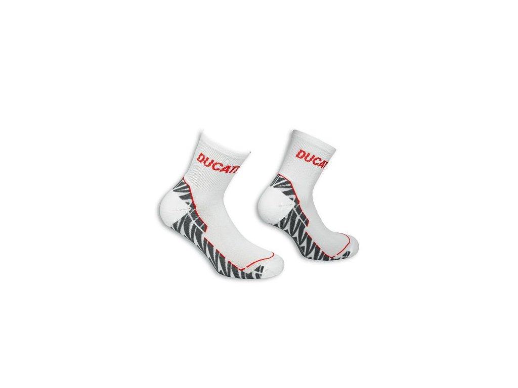 Ponožky Ducati Comfort bílé