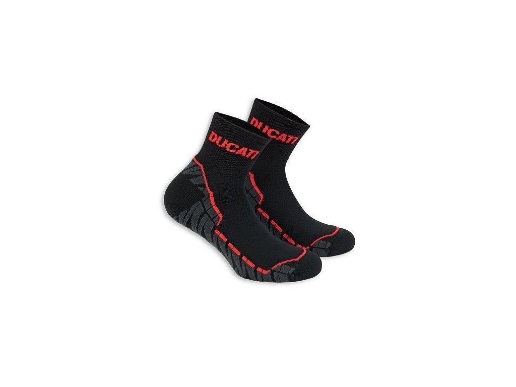 Ponožky Ducati Comfort černé