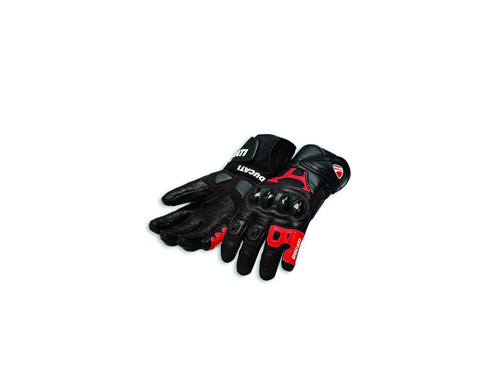 Rukavice Ducati Speed Air C1 černo-červené