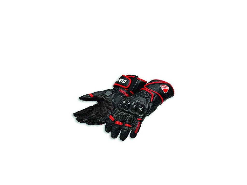 Rukavice Ducati Speed Evo C1 černo-červené