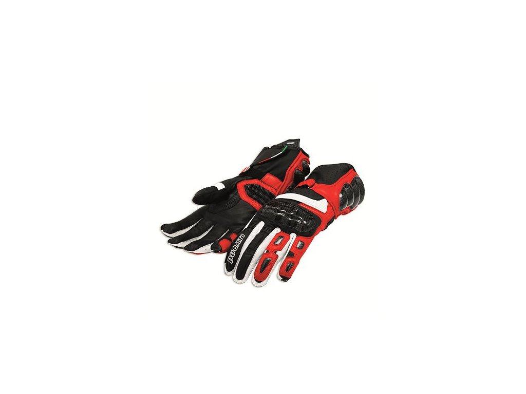 Rukavice Ducati Performance C2 červené