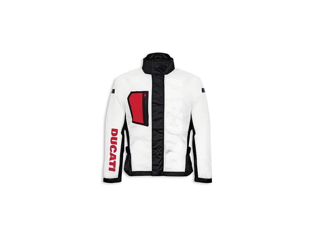 Nepromokavá bunda Ducati Aqua průhledná