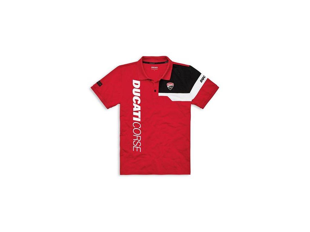 Polotričko Ducati Corse Track červené