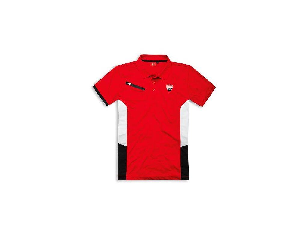 Polotričko Ducati Corse Power červené