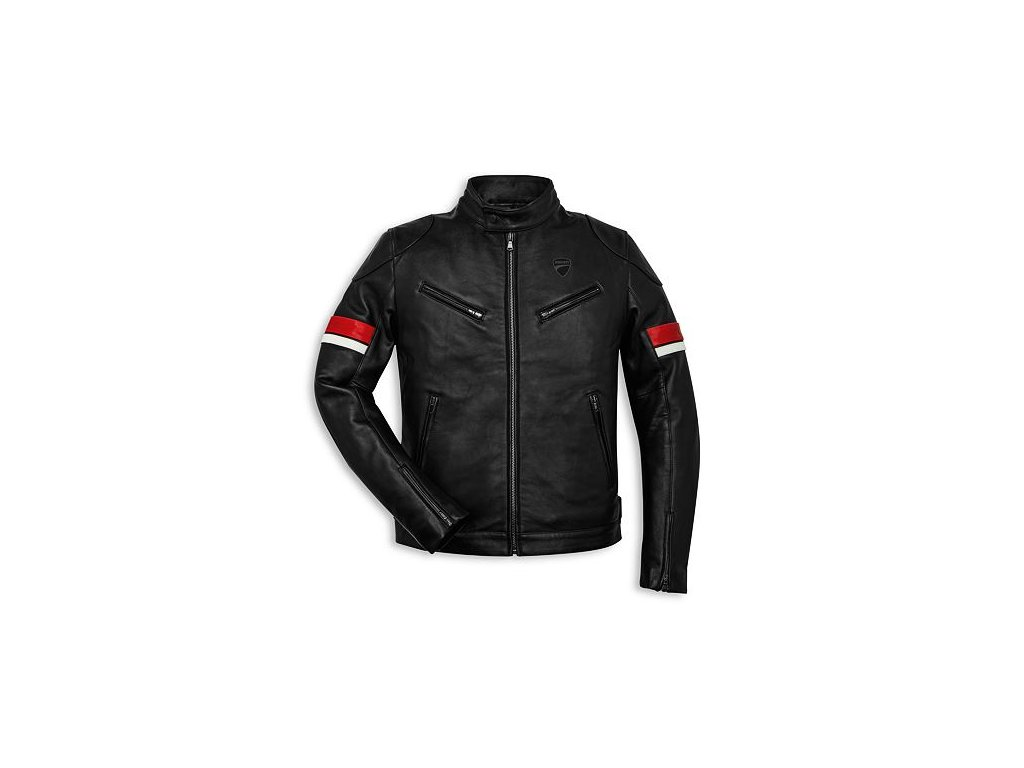Kožená bunda Ducati Urban Stripes