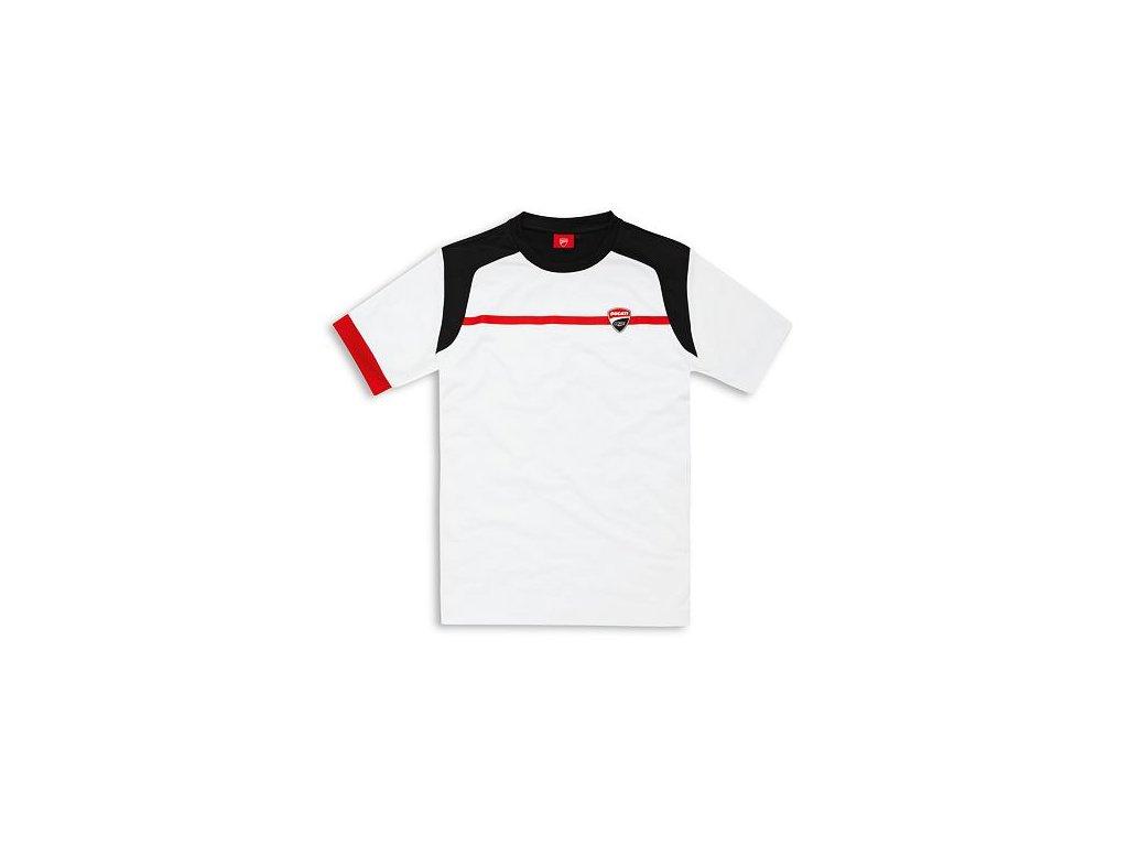 Tričko Ducati Corse Power bílé