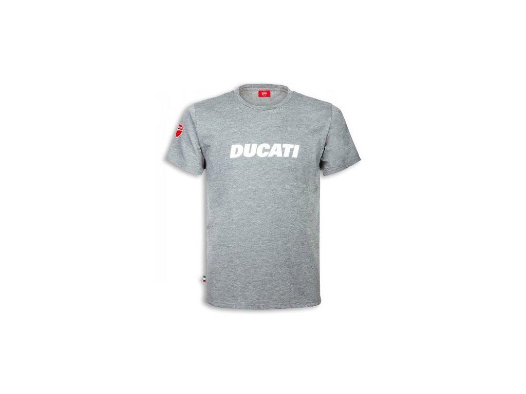 Tričko Ducatiana 2 šedé