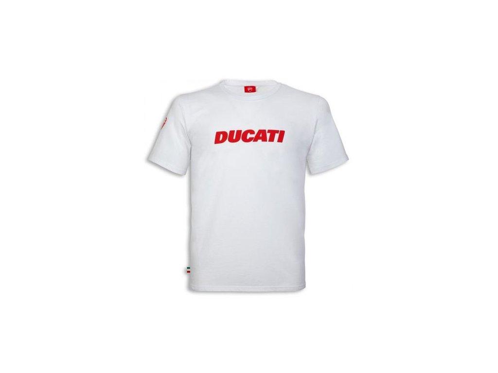 Tričko Ducatiana 2 bílé