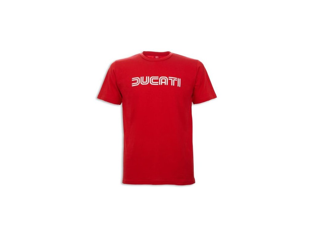 Tričko Ducatiana 80s červené