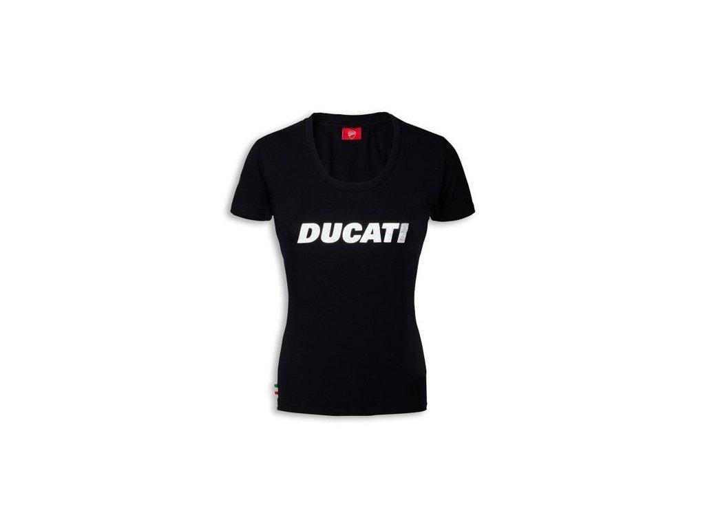 Dámské tričko Ducatiana černé