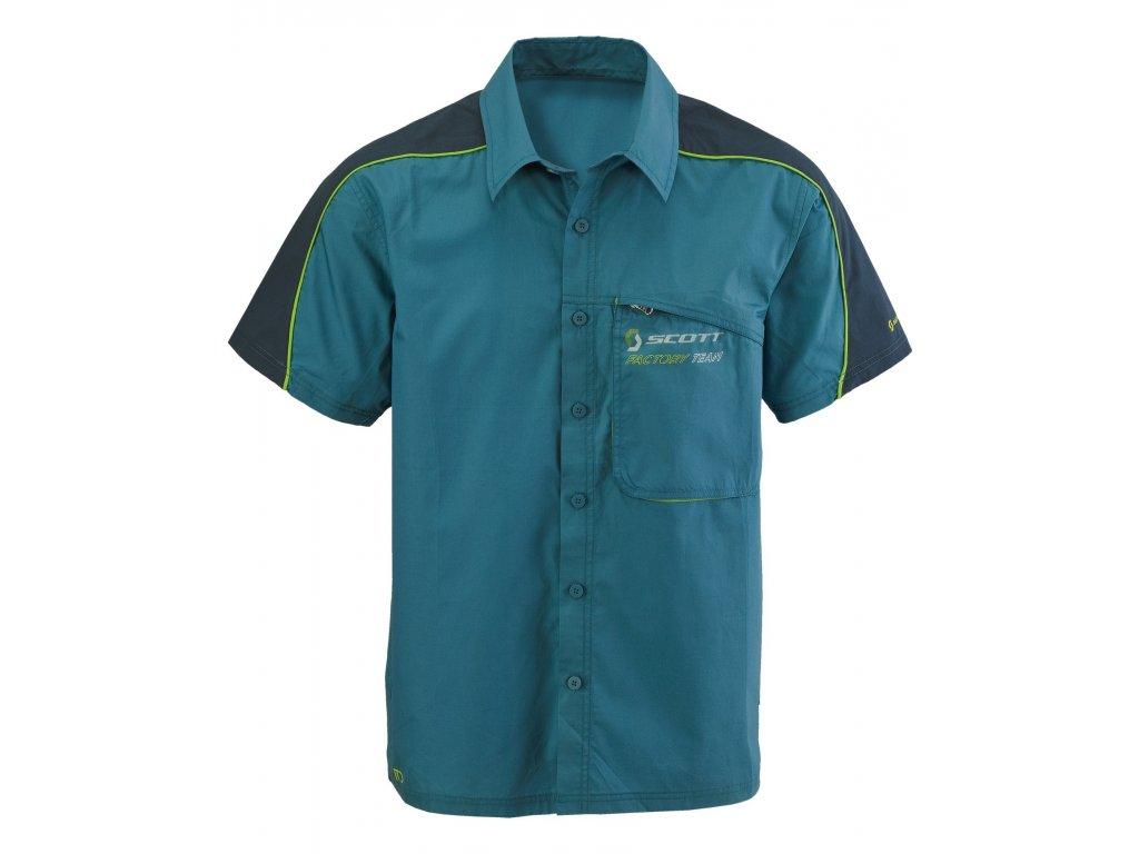 shirt FACTORY BUTTON s/sl