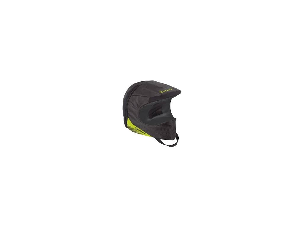 bag HELMET black/lime green