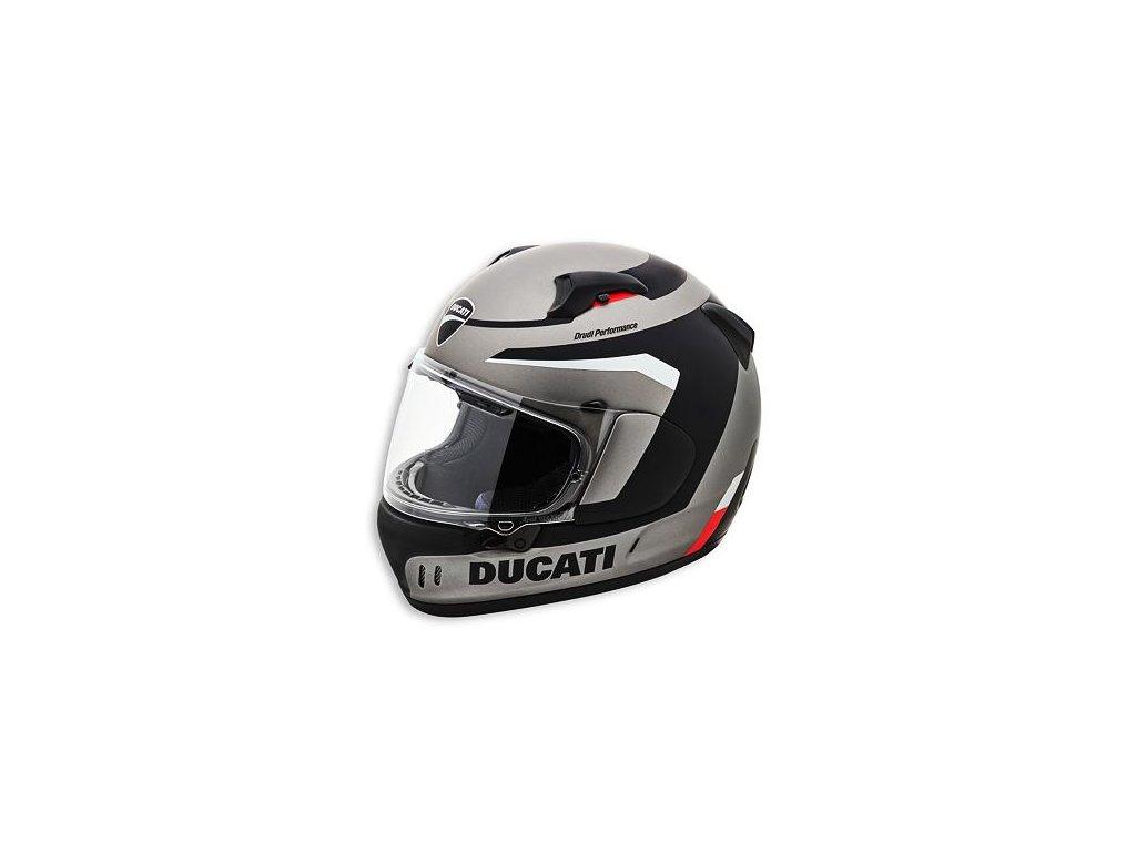 Přilba Ducati Black Steel