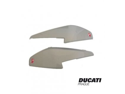 Kryty bočních kufrů Ducati GLOSSY GRAY