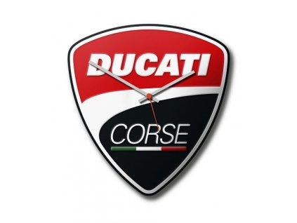 Nástěnné hodiny Ducati Corse Power