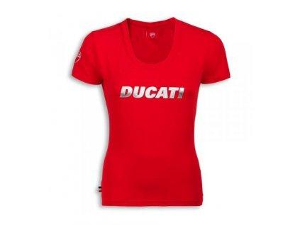 Dámské tričko Ducatiana červené