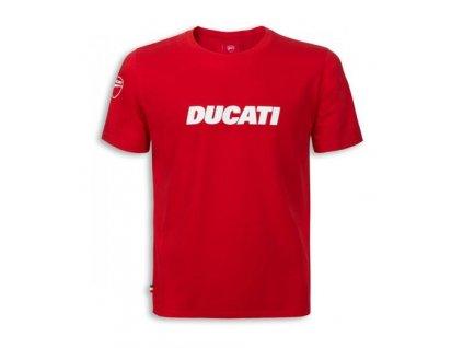 Tričko Ducatiana 2 červené