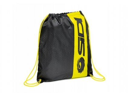 TOWN SHOE BAG black/yellow