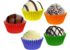 Cukrářské košíčky na pečení do 220 °C, barevné mix