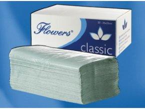 ZZ papírové ručníky zelené 5000