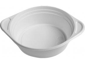 Šálek na polévku bílý PP, 500 ml