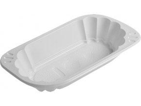 Miska oválná bílá PS, 250 ml
