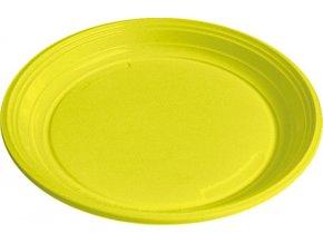 Talíř žlutý PS, Ø 22 cm