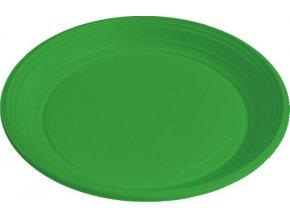 Talíř zelený PS, Ø 22 cm