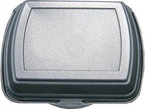 Menu box 2-dílný metalizovaný 250 x 205 x 75 mm