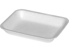 Podložní miska bílá 70, 175 x 135 x 24 mm, 900 ks