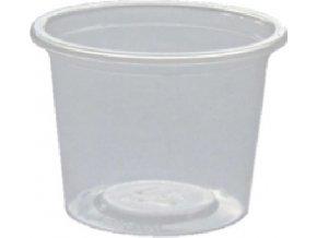 Dressingová miska průhledná 50 ml PP