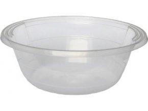 Salátová/polévková miska průhledná 600 ml PP
