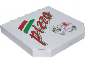 Krabice na pizzu z vlnité lepenky - typ 6