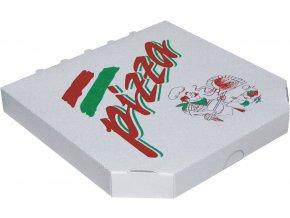 Krabice na pizzu z vlnité lepenky-typ 6 - extra pevná