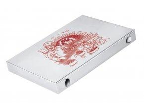 Krabice na pizzu z vlnité lepenky 60 x 40 x 5 cm