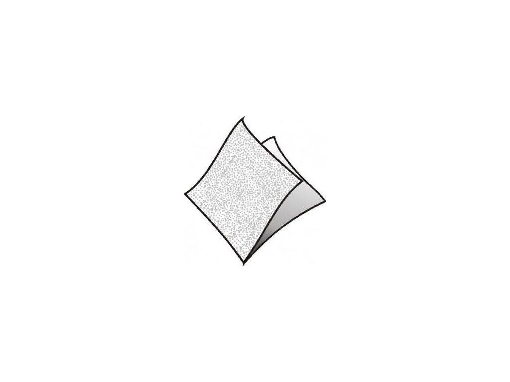 Ubrousky 1vrstvé 33x33 bílé 500ks  0170533